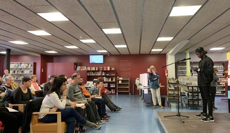 Recital poètic a càrrec de lectors, divendres passat a Juneda.