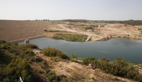 Imatge d'arxiu de l'embassament de l'Albagés.
