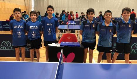 Un equip del CTT Borges, classificat pel Campionat de Catalunya