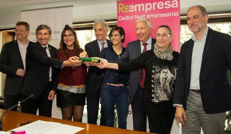 El programa Reempresa salva 120 negocis i 280 llocs de treball a Lleida des del 2011