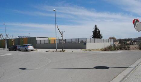 Els terrenys on es construirà el nou institut.