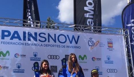 Tres medalles per a Arriola, de l'Ibarra Ski