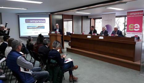 Cecot i GlobaLleida van presentar els resultats del programa Reempresa.