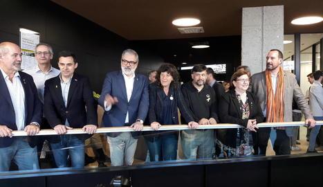 UP inaugura la nova seu a Lleida, amb mil metres quadrats