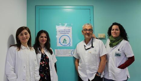 Foto de família de l'equip del Santa Maria contra les síndromes de sensibilització central.