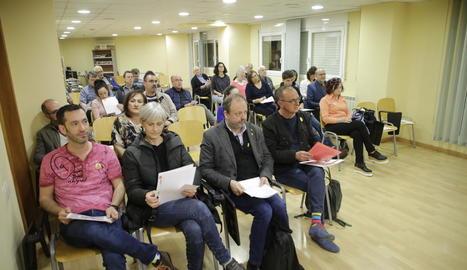 L'assemblea local d'ERC va aprovar ahir la llista d'Esquerra, liderada per Pueyo.