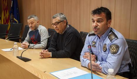 Rosselló, Pascual i Dalghi, a la presentació de la iniciativa.