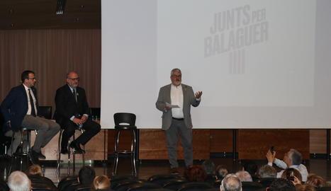 Més de cent persones a la presentació de JxBalaguer.