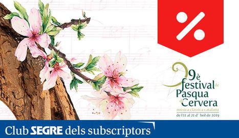 9a edició del Festival de Pasqua de Cervera, el festival de la música clàssica catalana.
