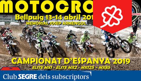 Una nova edició del Campionat d'Espanya de Motocròs.