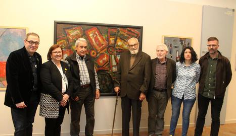 Tàrrega obre una sala permanent amb obres de 24 artistes destacats de la ciutat d'entre els anys 1875 i 1965