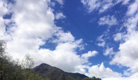 Un tram del camí entre Aran i l'Alta Ribagorça.