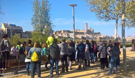Unes seixanta persones van participar en la primera ruta celebrada dissabte passat.