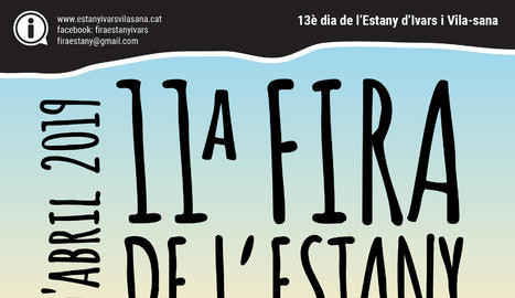 Cartell de la 11 Fira de l'Estany d'Ivars