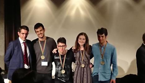El grup que representarà Espanya a l'olimpíada de Biologia.