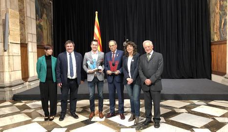 Tomàs Cusiné, de Cérvoles, guanyador del millor vi de Catalunya.