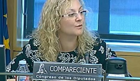 La detinguda, María Sevilla.