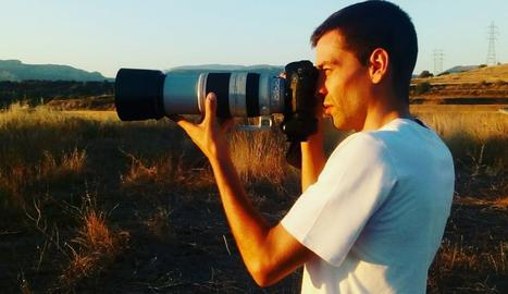 El fotògraf Edgar Aldana.