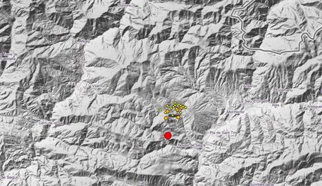 El terratrèmol a l'Alt Urgell ha tingut més de 20 rèpliques