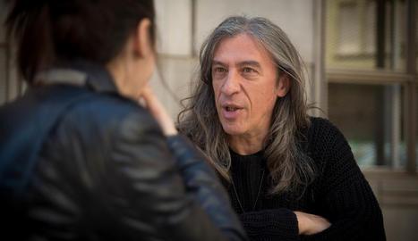 """Gerard Quintana: """"Comparteixo amb els protagonistes l'actitud vital de buscar i trencar els límits"""""""