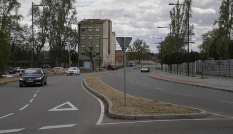 Avinguda Victoriano Muñoz, a Cappont.