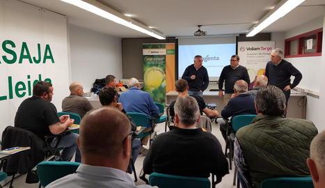 Presentació de dos productes fitosanitaris, dijous, a Lleida.