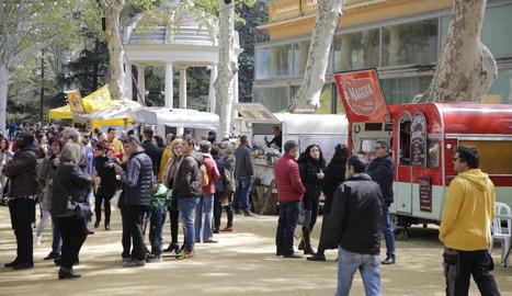 El Rumm Festival, ahir al migdia als Camps Elisis de Lleida.