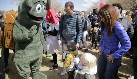 Jornada lúdica i solidària al Parc de l'Aigua de Lleida
