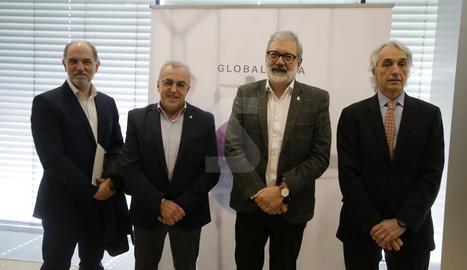 L'acte de presentació del projecte per atreure inversions 'Invest in Lleida'.