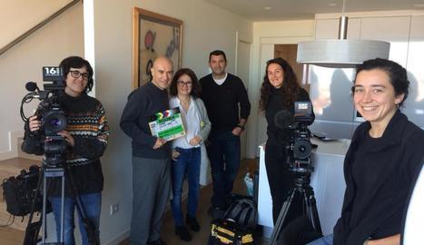 Les famílies obren casa seua a l'equip del reportatge sobre com porten el judici pel procés.