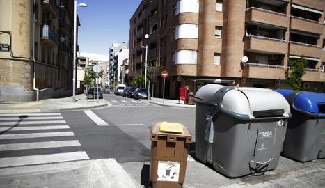 Imatge del carrer Venus amb Cardenal Cisneros.