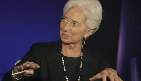 La directora gerent de l'FMI, Christine Lagarde.