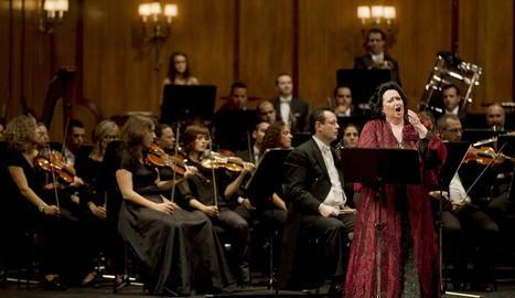 La soprano catalana, en un concert al Teatre Campoamor d'Oviedo el 2015.