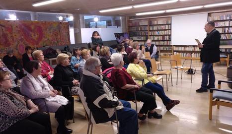 Presentació del llibre al Centre Cívic de Balàfia.