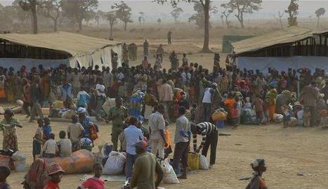 Un racó del camp de refugiats Dadaab a Kènia, el més gran del món.