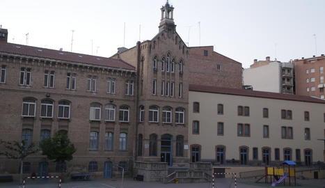 Vista del col·legi Maristes Montserrat de Lleida.