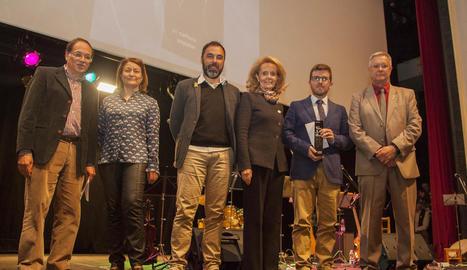 El guardó es va entregar ahir a la nit en una gala que es va celebrar al Teatre Armengol.