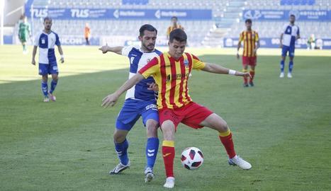 El Lleida continua en caiguda lliure
