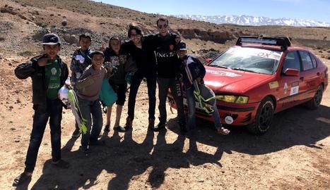 La competició de motor està dirigida a joves estudiants d'entre 18 i 28 anys.