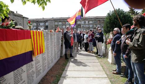 Homenaje a la II República en Lleida