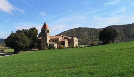L'església de Sant Andre, d'Aguilar de Segarra, una de les seus del festival.