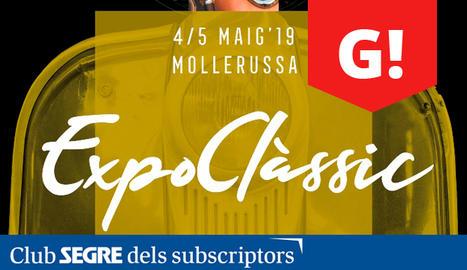 Cartell de la 24a edició del Saló Expoclàssic a Fira de Mollerussa.