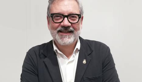 Fèlix Larrosa, a la seu de PIMEC