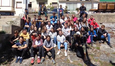 Estudiants de Sort i de Ceret, d'intercanv.