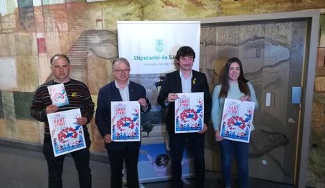 Presentació del certamen dijous a la Diputació de Lleida.
