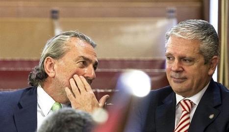Imatge d'arxiu de Francisco Correa i Pablo Crespo, capitostos de la trama Gürtel.