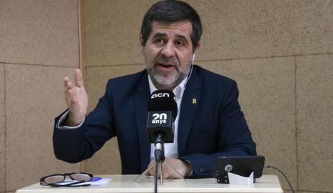 Jordi Sànchez avisa Pedro Sánchez que