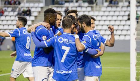 El Lleida es retroba amb la victòria