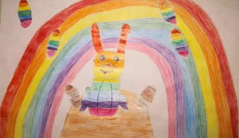 Dibuix de l'Emma Quirós Vigatà de Mollerussa.
