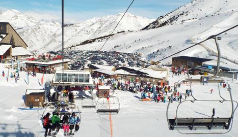 L'estació d'esquí Boí Taüll.